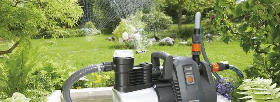 Achique de agua con motobomba