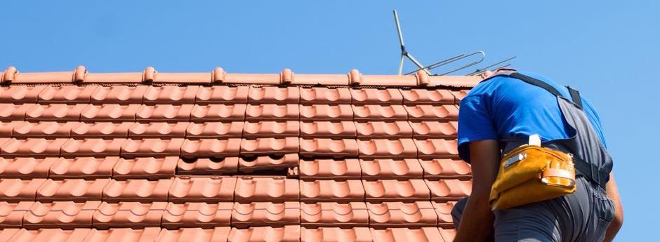Reparación de aleros de tejado