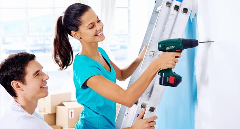 Tres pasos para un hogar seguro, inteligente y saludable.